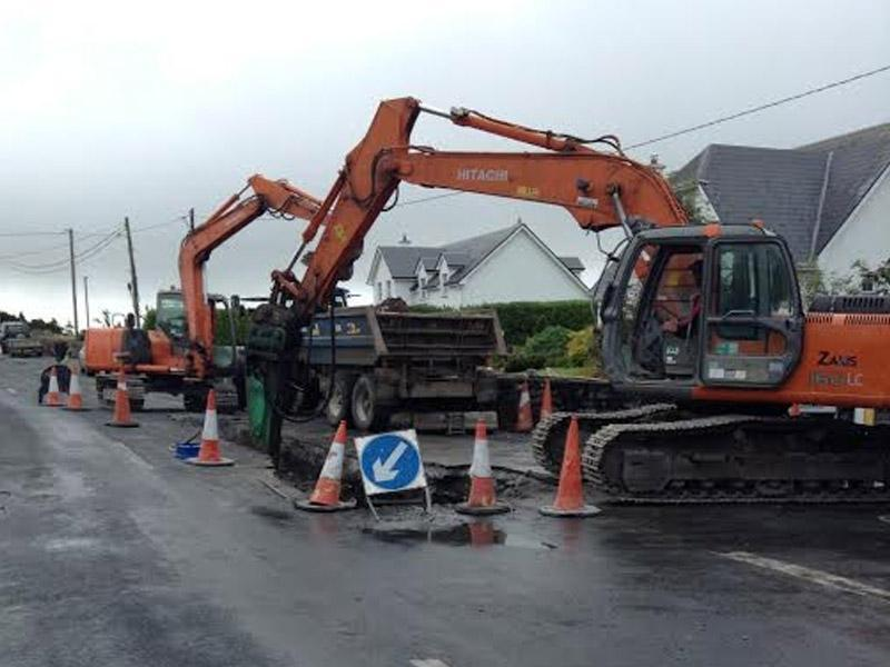New & Upgrading Watermain Schemes Loughrea, Co. Galway